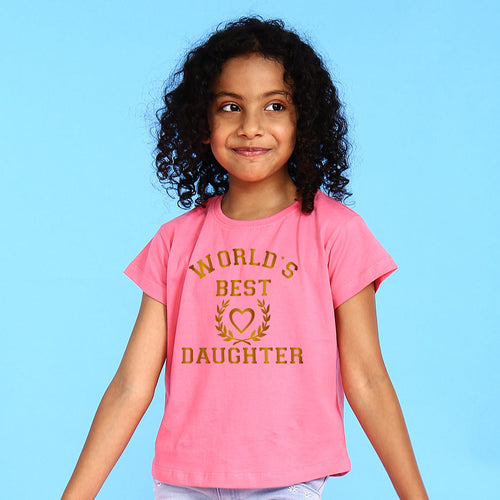 World's Best Mom Daughter Tees
