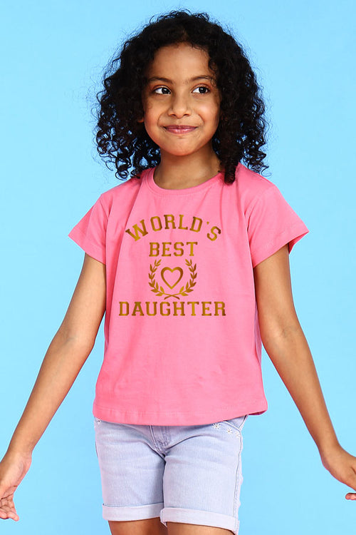 World's Best Mom Daughter Tees for Daughter