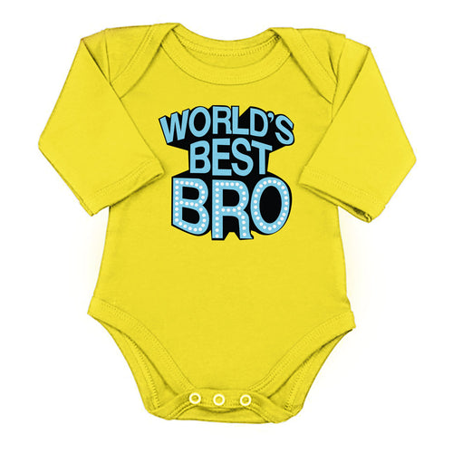 World's Best Bro/Sis, Matching Bodysuit And Tee For Brother And Sister