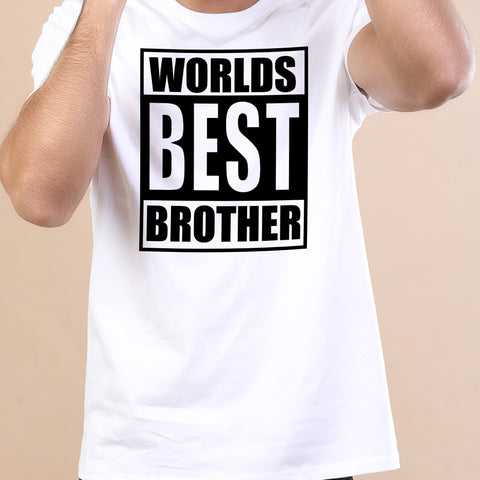 Worlds Best Brother Tees For Men