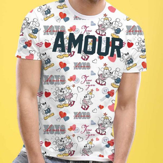 Amour, Disney Tee For Men