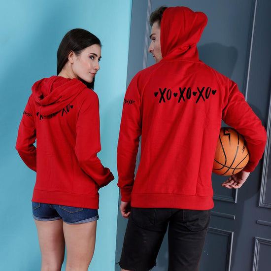 XOXO, Matching Hoodies For Couples