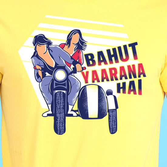 Bahut Yaarana Hai Couple Tees