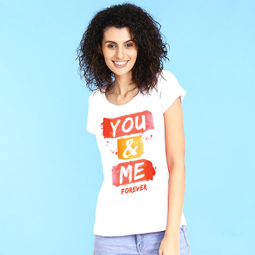 You and Me forever Tees