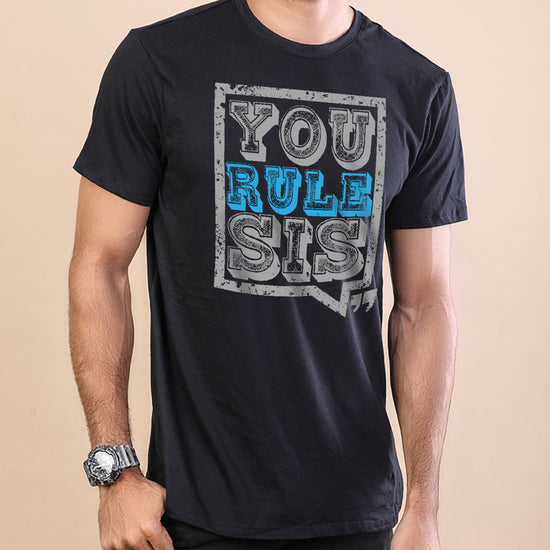 You Rock/You Rule Bro & Sis Tees