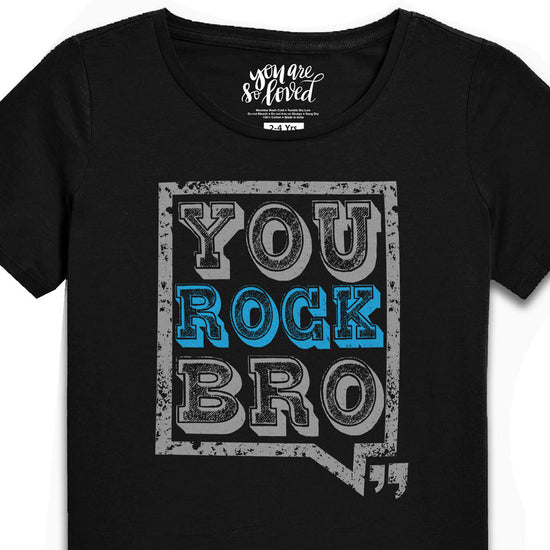Rock And Rule, Matching Bodysuit & Tees For Brother And Sister