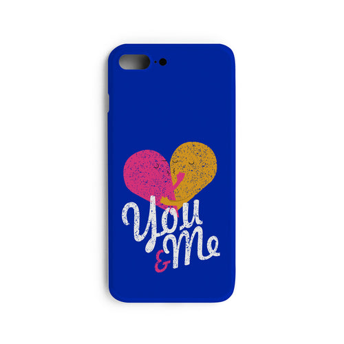 You & Me Heart, Couple Mobile Cases