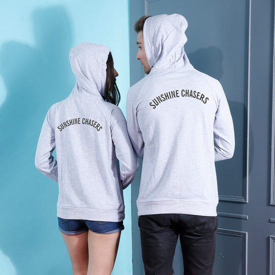 Sunshine Chasers, Matching Hoodies For Couples