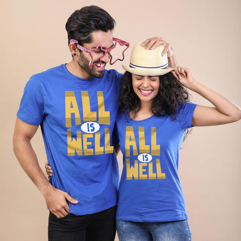 All Is Well, Matching Tees For Brother And Sister Adults