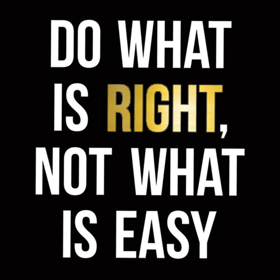 Do What Is Right Tee
