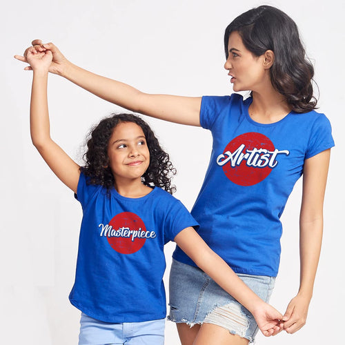 MasterPiece, Matching Tees For Mom And Daughter