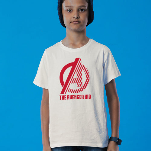 The Avenger Kid/Dad, Matching Marvel Tees For Son
