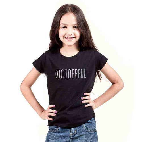 Wonderful Tee for Girls