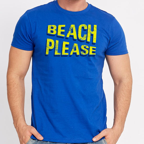 Beach Please, Matching Family Tees