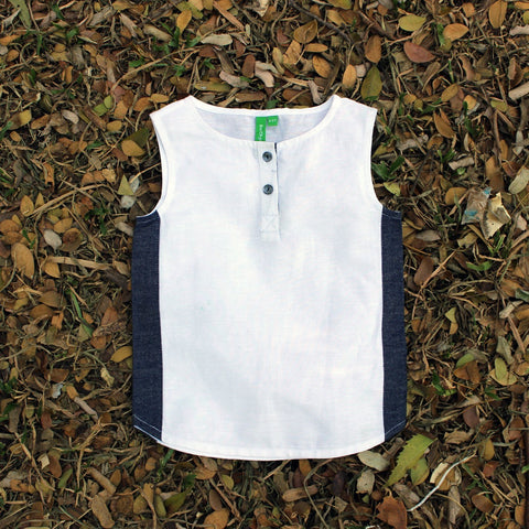 Beautifull Us Cotton Top For Girls