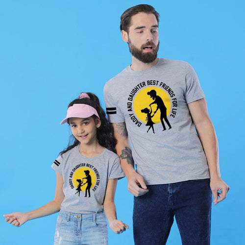 Dad And Daughter Best Friends For Life, Matching Tees