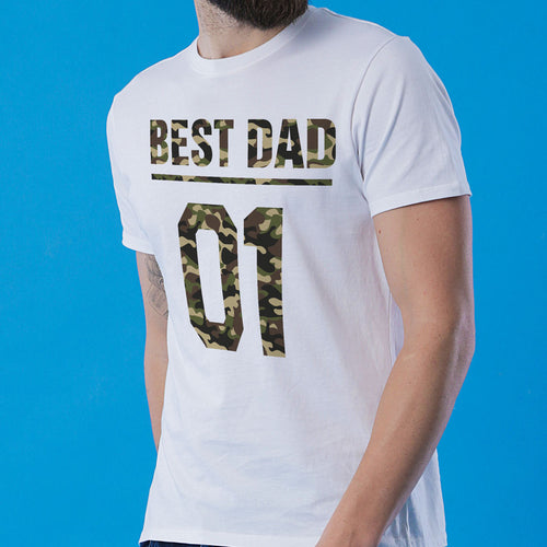 Best Duo Dad And Son Matching T-Shirt