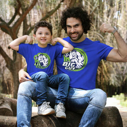 The Big/Lil Hulk Guy, Matching Marvel Tees For Dad And Son
