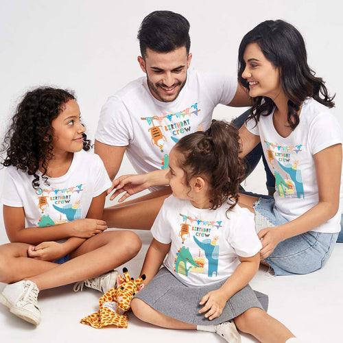 Birthday Crew Family Tees