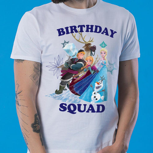 Birthday Squad, Frozen Tees for Family