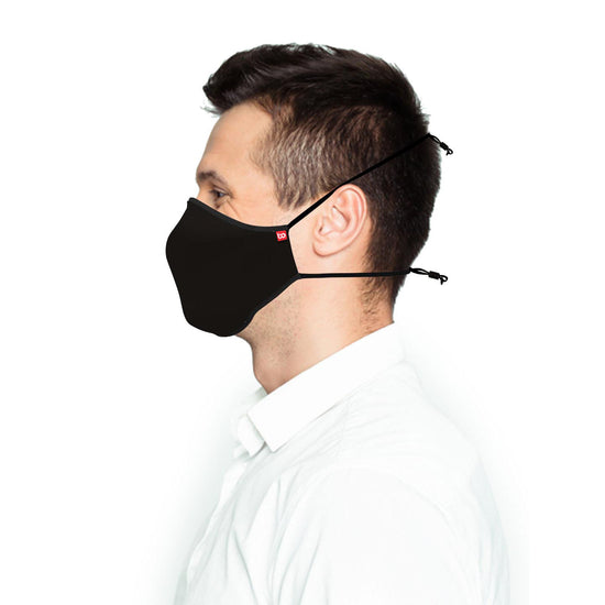 Pack Of-2 Unisex Adults Anti-viral Reusable Mask