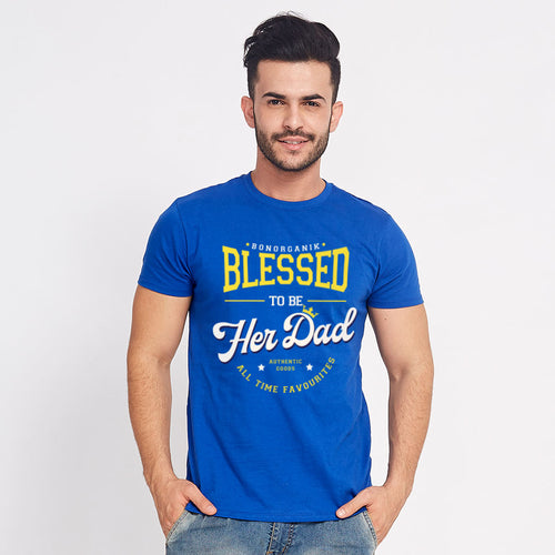 Blessed Daughter/Dad, Matching Dad And Daughter Tees