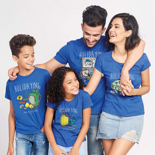 Holidaying Runs in the Family Tees