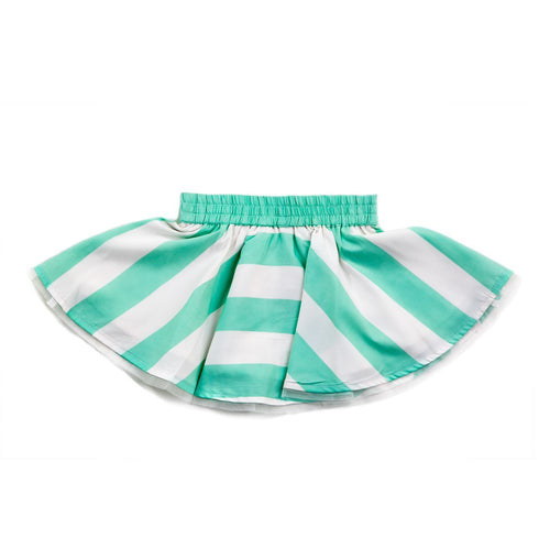 BonOrganik Greenade Girls Green Skirt