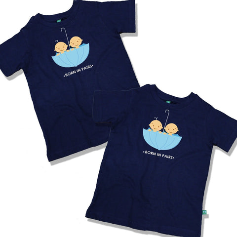 Born in Pairs Tees