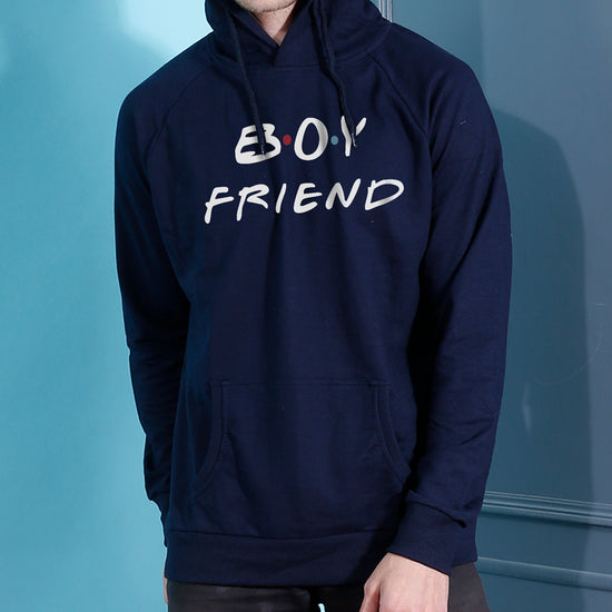 Boy/Girl Friend Hoodie For Men