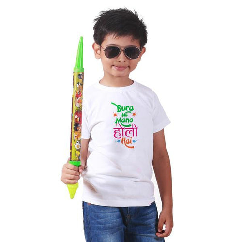 Bura No Mano Holi Hai Family Tees for son