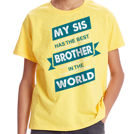 Best Brother & Sister In The World Tees