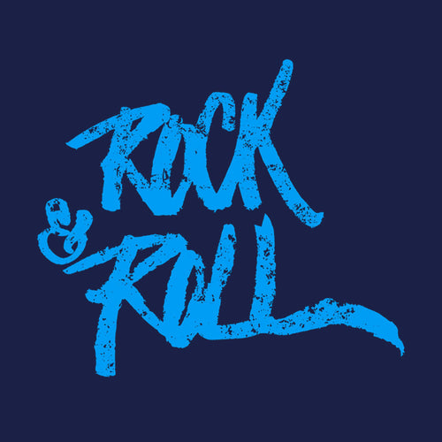 Navy Rock & Roll Father And Son Tshirt
