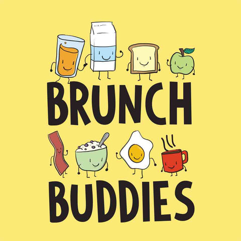 Brunch Buddies Bodysuit and Tees