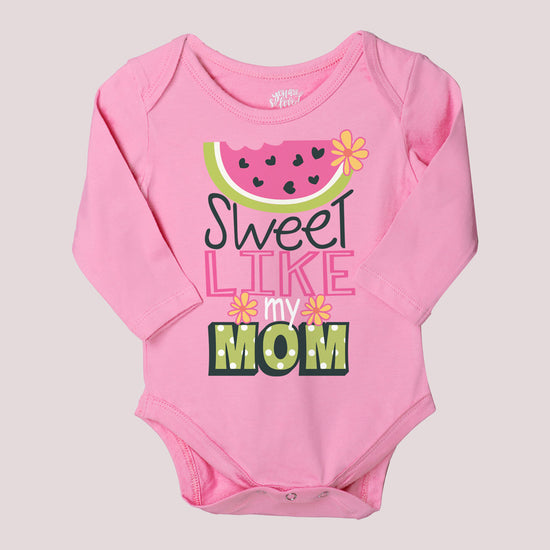 Queen Like Mama Set Of 3 Assorted Bodysuits For The Baby