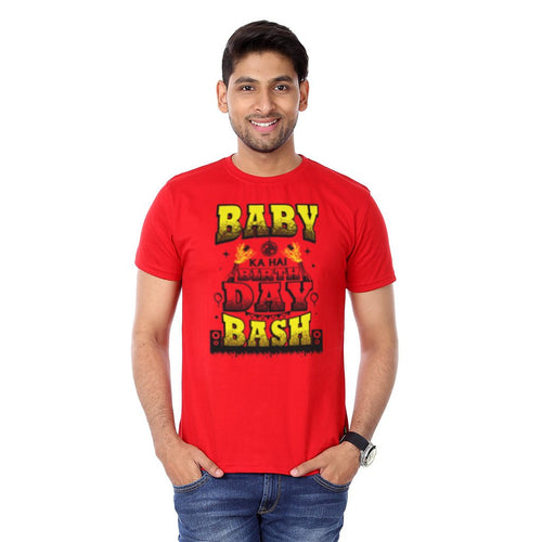 Baby Ka Hai B'Day Bash, Tee For Men