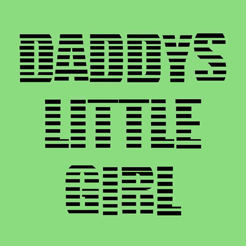 Father-Daughter Daddy's Little Girl Tees