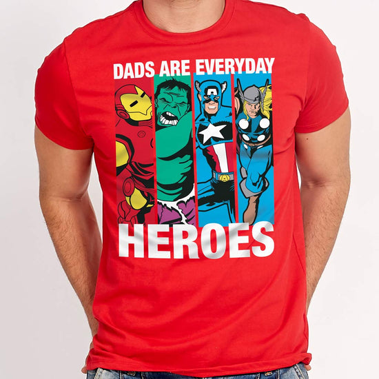Dads Are Every Day Heroes, Matching Dad & Son Tees