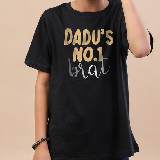 Dadu's Angel ,Matching Tees For Brother And Sister