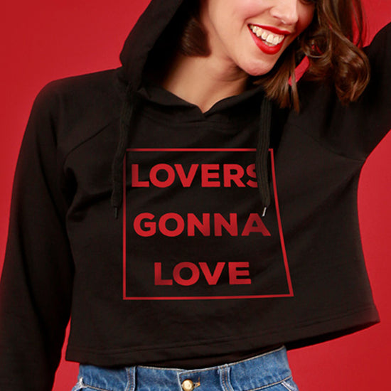 Lover Gonna Love, Matching Hoodies For Men And Crop Hoodie For Women