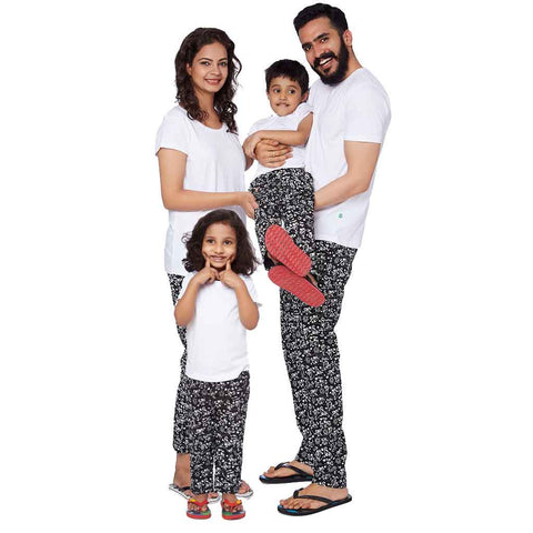 Family Yoga Black Pyjamas Only