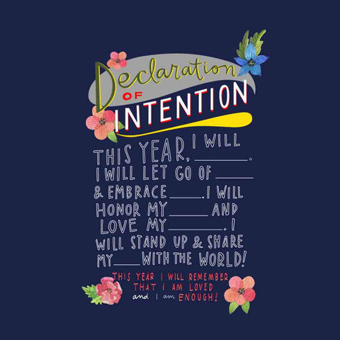 Declaration Of Intention Tee