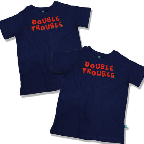 Double Trouble Combo Tee For Twins