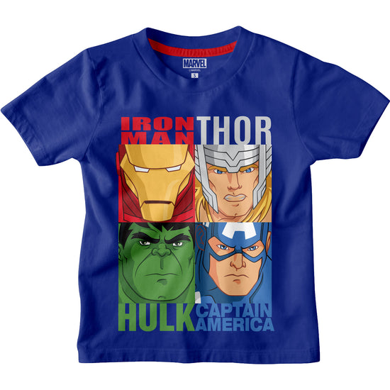 Team Marvel Boys Tshirt