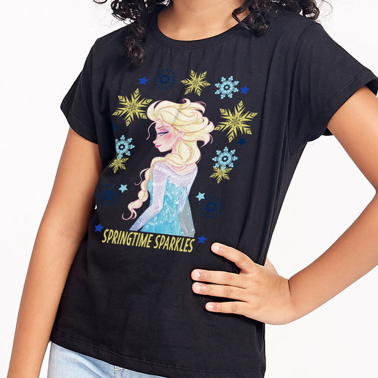 Springtime Sparkles, Disney Tee For Girls