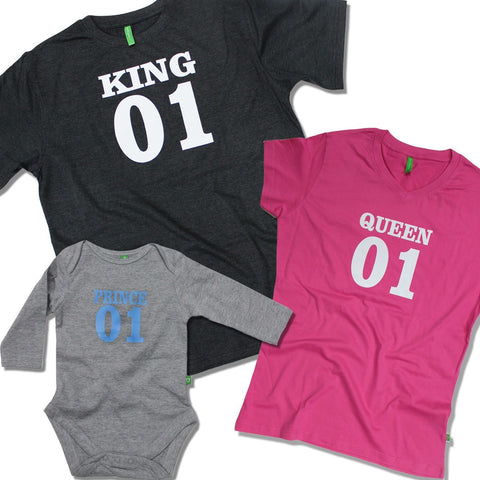 Royalty bodysuit and Tees