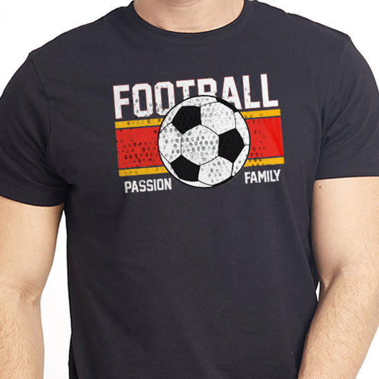 Football, Matching Family Dad/Mom/Son Tees