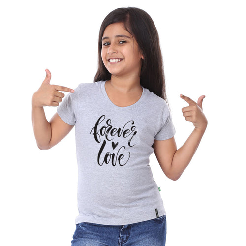 Forever Love Family Tees For Daughter
