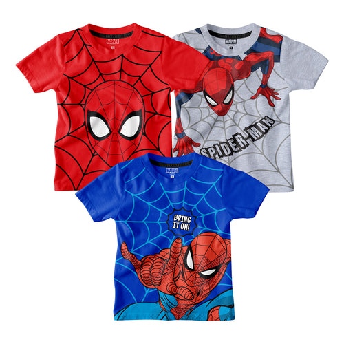 Pack Of 3-Ultimate Spiderman Boys Combo Pack