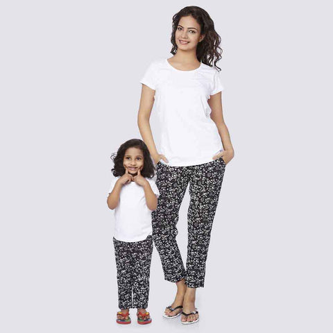 Mom Daughter yoga pyjamas Only